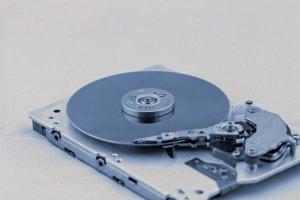 Abbildung einer Festplatte