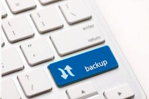 Tastatur mit Backup-Taste